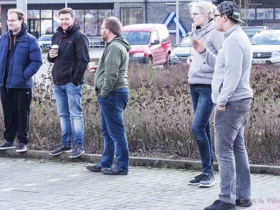 Treffpunkt EDIKA Nienburg zu Abfahrt nach Berlin 09.03.2019!